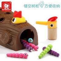 特宝儿 宝宝钓鱼玩具啄木鸟捉虫玩具 *2件