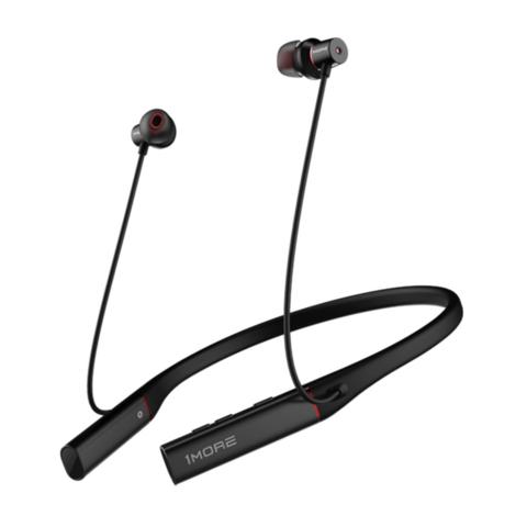 1MORE 万魔 1more 万魔 EHD9001BA 入耳式颈挂式双圈铁降噪无线蓝牙耳机 黑色