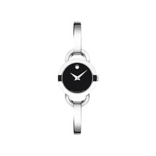 考拉海购黑卡会员 : MOVADO 摩凡陀 Rondiro 月熊系列 0606796 女士时装腕表