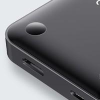BASEUS 倍思 Type-C手机底座扩展坞 接口转换器 七合一(USB3.0接口*3+TF卡+SD卡+HDMI接口+Type-C) 黑色 PD充电款