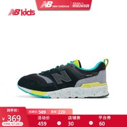 New Balance nb童鞋 男童女童7~14岁儿童运动鞋GR997 黑色 GR997HCX 35.5
