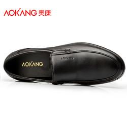 Aokang 奥康 113311002 男士商务休闲皮鞋