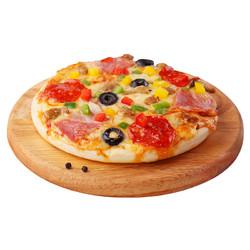 绝世 7英寸半成品披萨套餐送滚刀