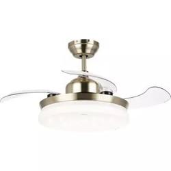 OPPLE吊扇灯风扇灯客厅餐厅卧室简约带LED风扇欧式吊灯 36寸-丽风LED三档分控