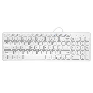 京东PLUS会员 : 航世HW156S-A键盘 有线键盘