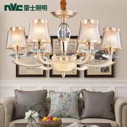 nvc-lighting/雷士照明 欧式吊灯 吊灯 S金+米白 0-39W