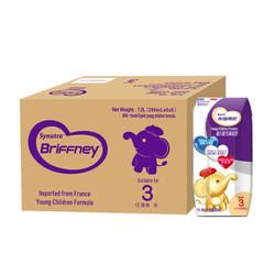 法国原装进口 圣元优博 布瑞弗尼3段幼儿配方液态奶 200ml*36 整箱装 *2件