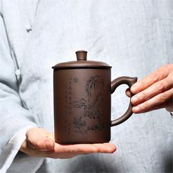 卡沐森 紫砂盖杯 520ml