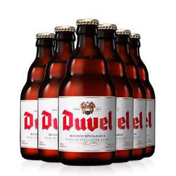 比利时进口Duvel督威金啤小麦精酿啤酒中浓度黄啤酒330ml*6瓶装