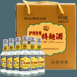 泸州老窖特曲60版工农牌52度230ml*6瓶浓香型国产名酒白酒整箱