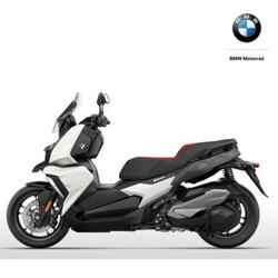 BMW 宝马 C400X 摩托车 雪山白