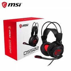 微星(MSI)DS502 电竞耳机 虚拟7.1环绕立体声