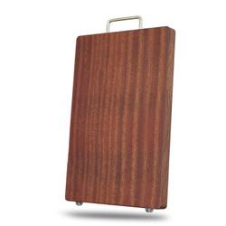 乌檀木菜板整木砧板实木家用菜板案板