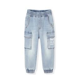 minipeace 太平鸟童装 男童工装牛仔裤 *3件