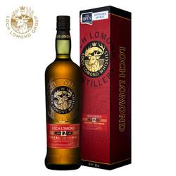 罗曼湖(LOCH LOMOND)进口洋酒 英国苏格兰 单一麦芽威士忌 12年 46度700ml *2件