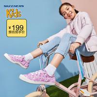 Skechers斯凯奇童鞋 2020春季新品女童轻便板鞋