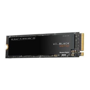 西部数据(Western Digital) 2TB M.2接口(NVMe协议) WD_BLACK SN750游戏高性能SSD固态硬盘|五年质保
