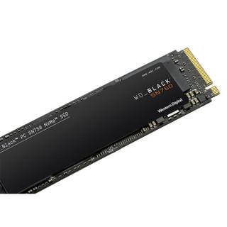 Western Digital 西部数据 WD BLACK SN750 固态硬盘 2TB M.2接口(NVMe协议) WDS200T3X0C-00SJG0