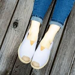 帅跑狼 T-7色系列 女士一脚蹬渔夫鞋