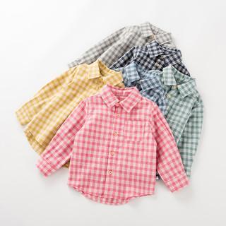 Oissie 奥伊西 儿童格子衬衫