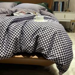 Xanlenss 轩蓝仕 海岛长绒棉贡缎100支高定四件套 1.8米床