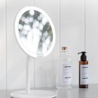 小米(MI) 米家led化妆镜子台式高清便携带灯可充电 米家LED化妆镜