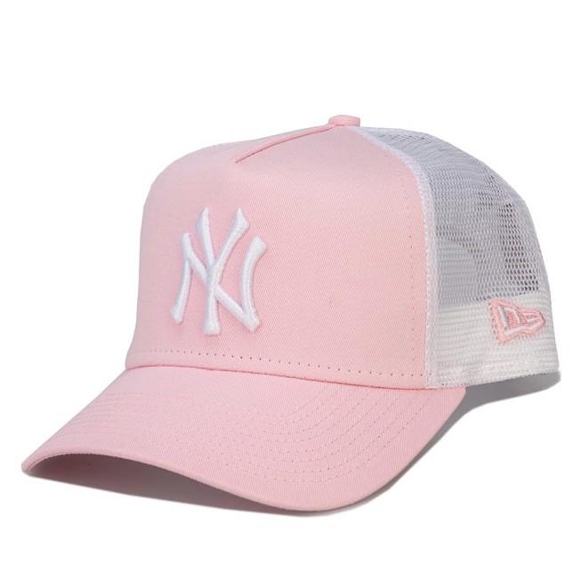 New Era League Essential NY Trucker Cap女士棒球帽