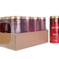 Coca-Cola 可口可乐 可口可乐咖啡+汽水 可乐型碳酸饮料 330ml*12罐