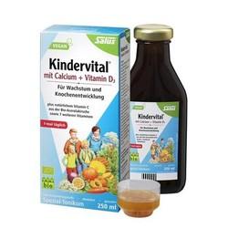 Kindervital 钙+维生素D3 儿童有机果蔬营 养液 250ml