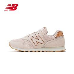 New Balance NB官方2020新款女鞋运动鞋简约透气清新风休闲鞋WL373CB2 *2件