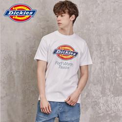 Dickies DK006518 男士字母印花短袖T恤