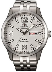 Orient 男式模拟自动手表不锈钢表带 RA-AB0008S19B