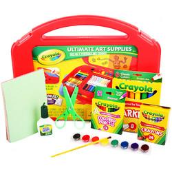 Crayola 绘儿乐 小艺术家绘画工具箱 涂鸦diy玩具文具套装