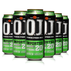 OJ20度强劲烈性啤酒500ml