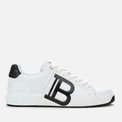 Balmain 巴尔曼 B-Court 男款真皮休闲鞋