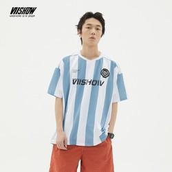 viishow 威秀 男士条纹短袖T恤 *2件