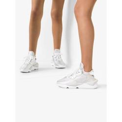 Y-3 14540121 女士亮面气垫运动鞋 白色 UK4