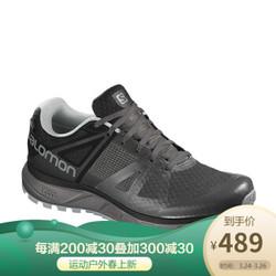萨洛蒙(Salomon) 男款户外防水越野跑鞋 TRAILSTER GTX 磁铁灰404882 UK9.5(44)