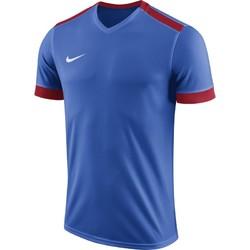 耐克足球训练比赛组队服男光板运动快干短袖球衣 894315-463