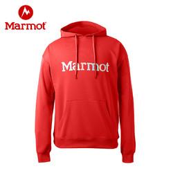 Marmot/土拨鼠秋冬户外运动休闲柔软保暖男士卫衣