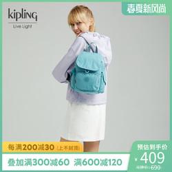 kipling女包包迷你轻便帆布包时尚简约休闲双肩包|CITY PACK MINI *3件