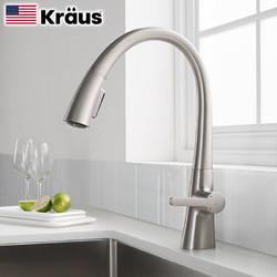 KRAUS 克劳思 1673 可旋转厨房水槽水龙头