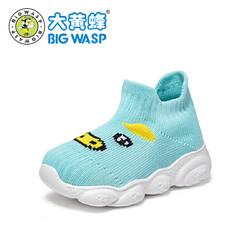 大黄蜂童鞋 宝宝学步袜鞋2019新款婴儿软底布鞋6个月新生儿步前鞋