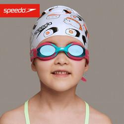Speedo/速比涛 海洋Q队 婴幼儿 习泳泳镜 均码812115D448粉/蓝色 *3件
