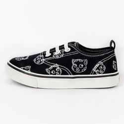 英国会说话的汤姆猫 童鞋儿童帆布鞋儿童休闲鞋 中小童春秋款时尚防滑耐磨滑板鞋板鞋