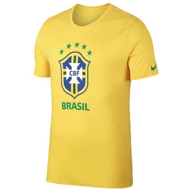 NIKE 耐克 2018年男子世界杯 巴西国家队主题短袖T恤