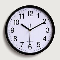 克劳特 现代简约挂钟 10英寸 经典款白底
