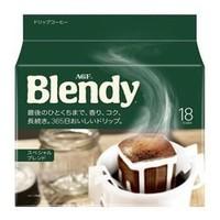AGF Blendy 挂耳咖啡 原味咖啡 7g*18袋 *3件