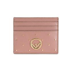 FENDI 芬迪  KAN I F女士暗粉色牛皮卡包卡片夹 8M0269 A5PK F10HW *2件