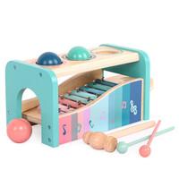 铭塔(MING TA)敲球台敲琴 儿童益智玩具早教启蒙 婴幼儿宝宝音乐 *6件